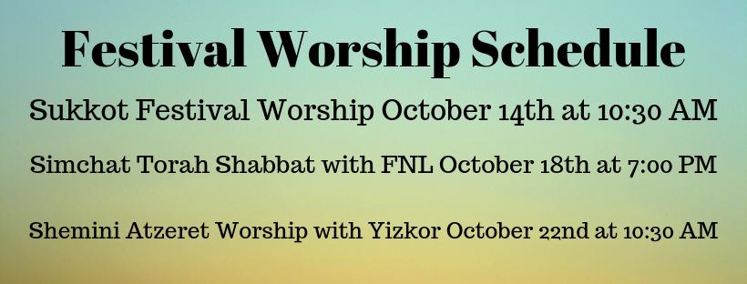 Festival Worship Sched 2019 Slider