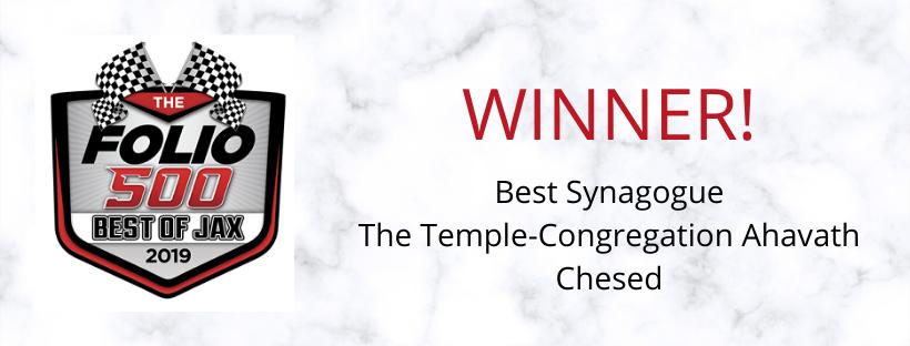 Best Synagogue 2019 Web Banner