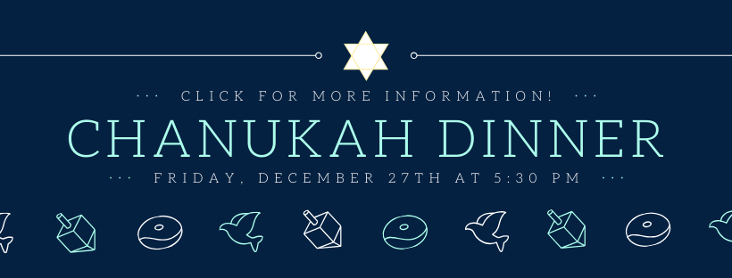 Chanukah Dinner STD 2019