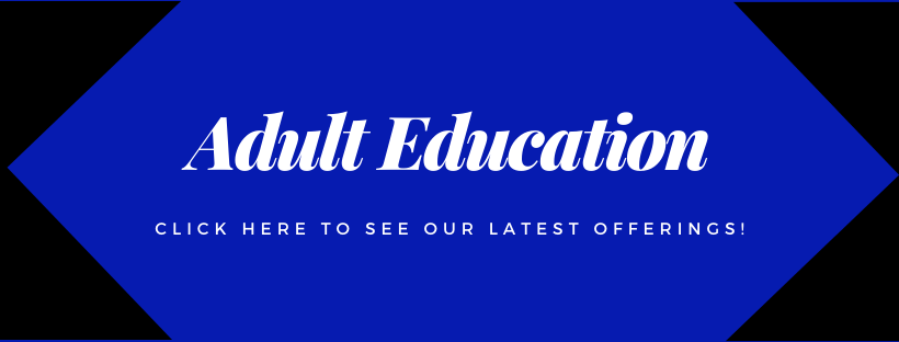 Adult Education Website Banner