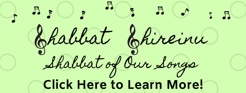 Shabbat Shireinu Website Header